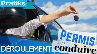 Permis de conduire - Le déroulement du permis de conduire