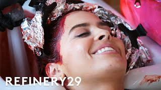 I Dyed My Hair Red Without Bleach | Hair Me Out | Refinery29