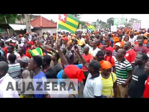 Togo opposition vows more protests against President Gnassingbe