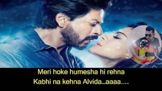 Janam Janam Karaoke with Lyrics