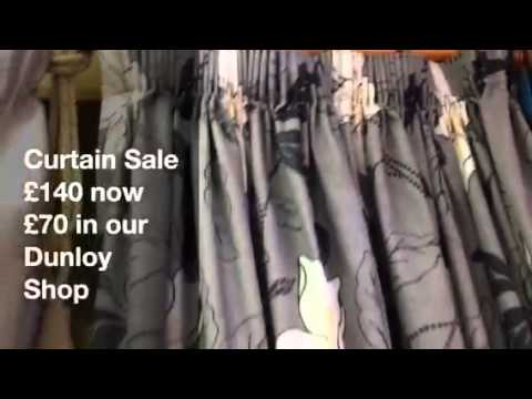 Grey with black and cream sale curtains oct14.MOV