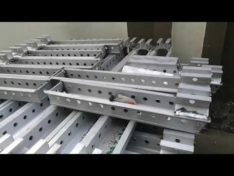 Aluminum formwork system design,production, concrete precasting formwork