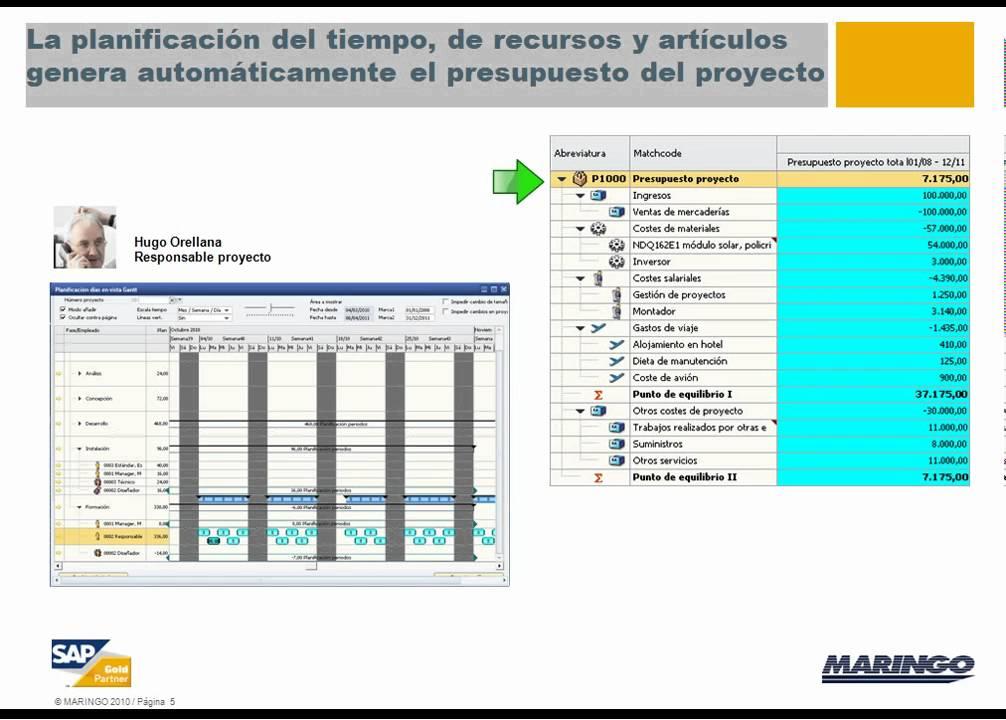 Sap Business One Control Eficiente De Proyectos
