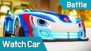Watch car Battle Scene18 Bluewill VS Bei