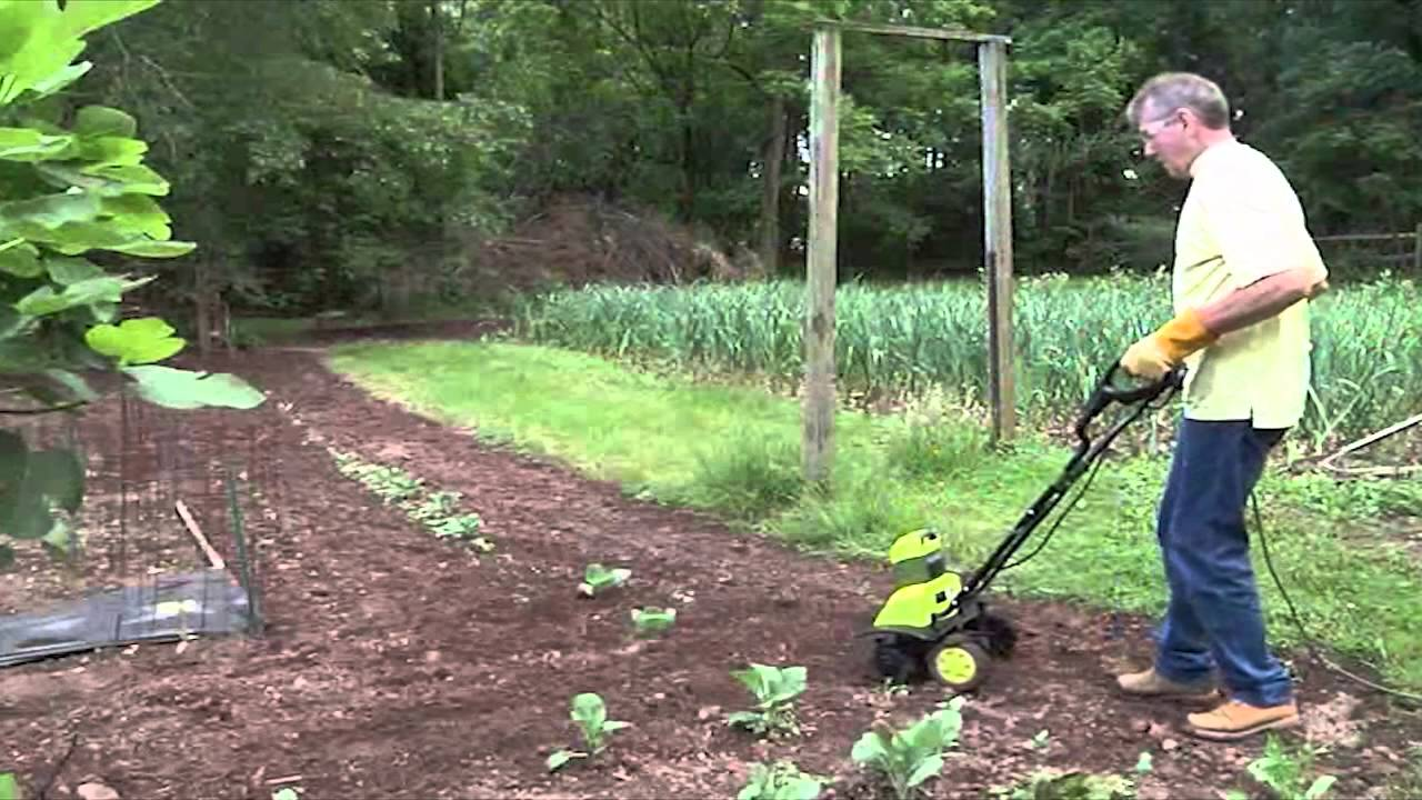 Sun Joe Electric Garden Tiller YouTube