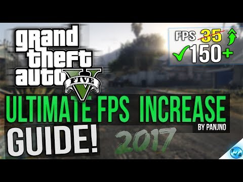 🔧 Grand Theft Auto 5: Dramatically Increase Performance / FPS With Any Setup! Lag Drop Fix