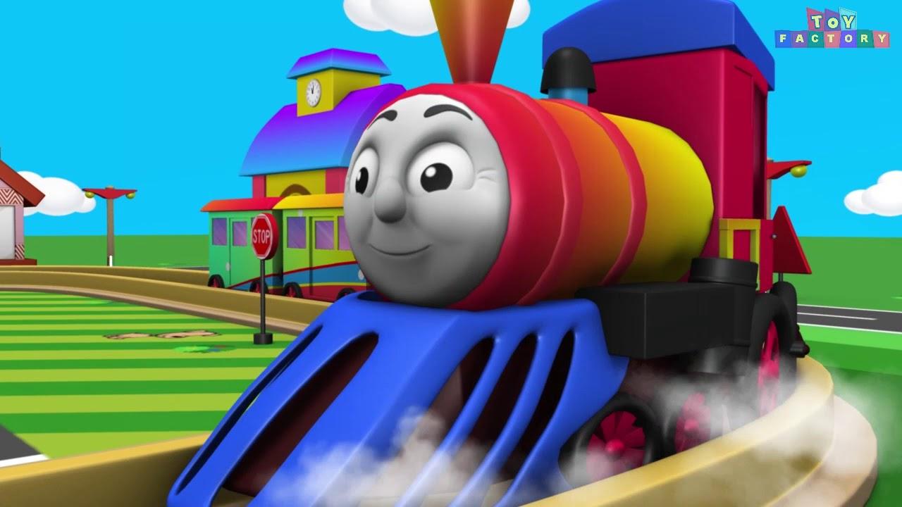 Train Toys - Cartoon for Kids - Kids Entertainment - Train Videos - Thomas & Friends - Chu Chu T