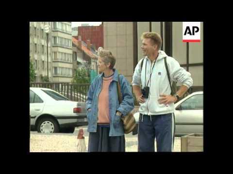 BELGIUM: BRUSSELS: BIKERS PROTEST AGAINST NEW EUROPEAN UNION LAWS
