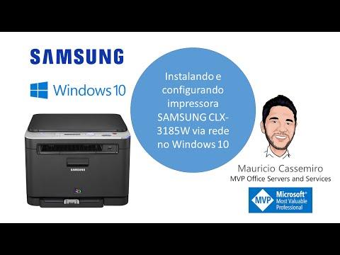 instalando-impressora-samsung-clx-3185w-no-windows-10-via-rede