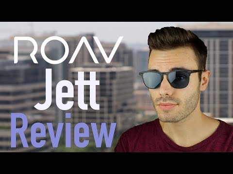 ROAV Jett  - World's Thinnest Folding Sunglasses Review