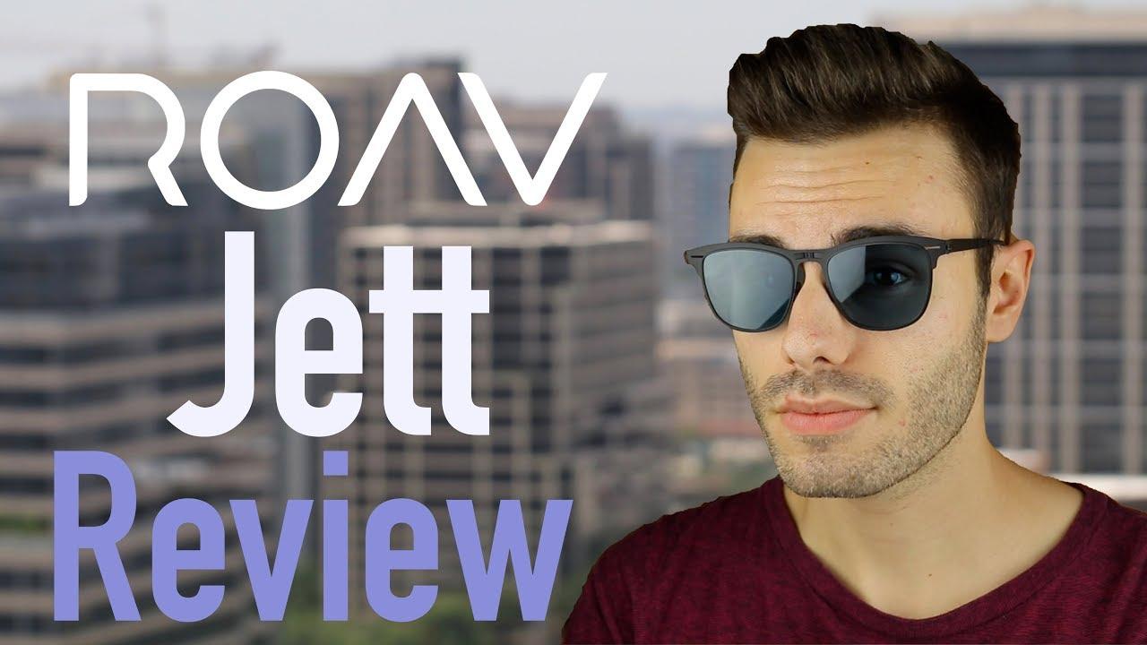 16f08b9692 ROAV Jett - World s Thinnest Folding Sunglasses Review - YouTube