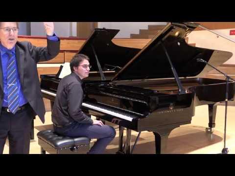 Robert Levin Piano Masterclass
