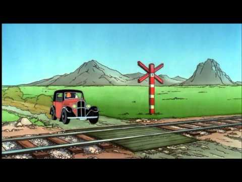 Tintin Opening Sequence