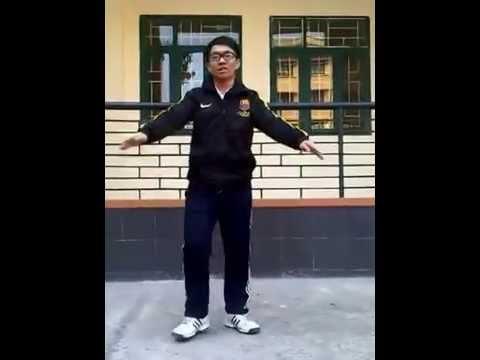 Bài tập thể dục 32 động tác tay không HUYỀN THOẠI - ĐHTM - BlogVcu.com