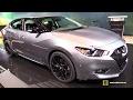 2017 Nissan Maxima Midnight Edition - Exterior and Interior Walkaround - 2017 Chicago Auto Show