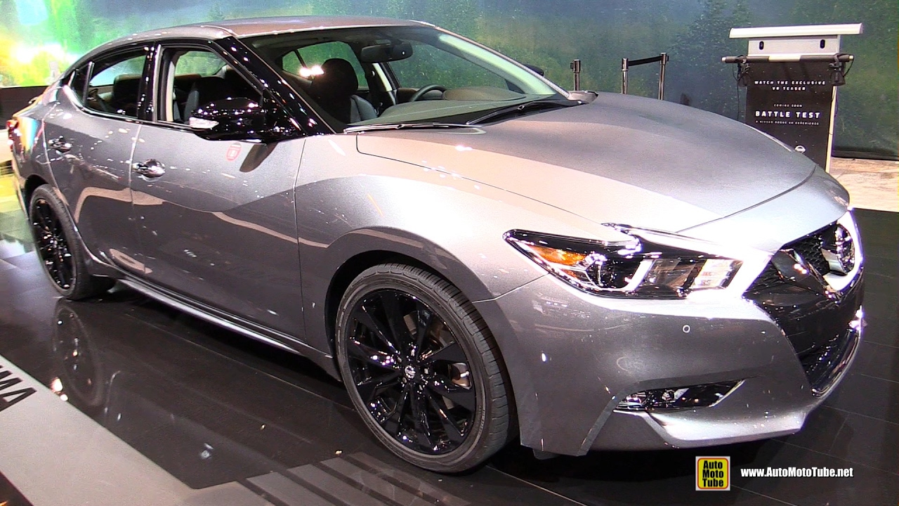 2017 nissan maxima midnight edition exterior and. Black Bedroom Furniture Sets. Home Design Ideas