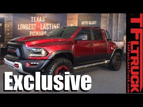 Listen to the New Ram Rebel TRX Concept Truck
