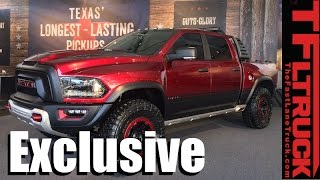 listen to the new ram rebel trx concept truck s 575 hp hemi roar