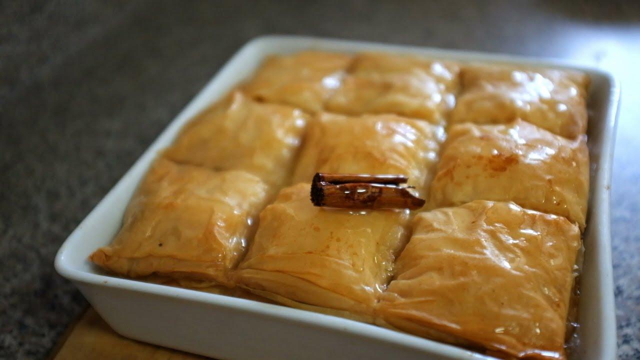 Galactomburico greek custard dessert recipe youtube forumfinder Images