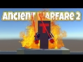 Defeating the Lord of Fire! - Let's Play Ancient Warfare 2 Gameplay