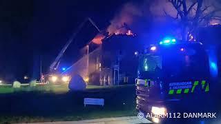 25012019   Brand på efterskole   Rønde