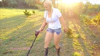 Metal Detecting for Relics in the Country Field