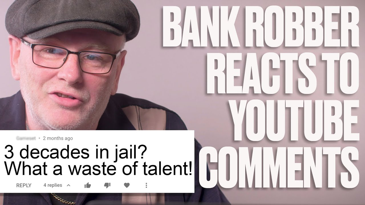 Bank Robber Reacts To Internet Comments | LADbible