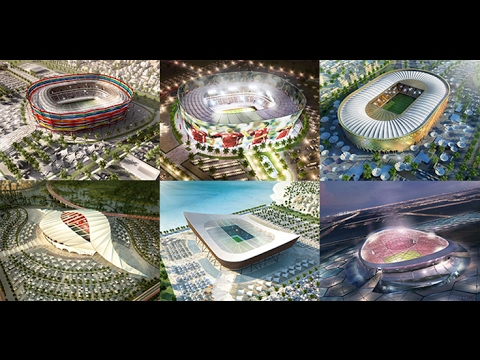 Fifa World Cup 2022 Stadiums in Qatar YouTube