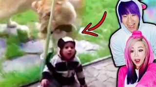 Funny Kids VS Zoo Animals!