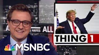 President Donald Trump's Latest Brilliant Plan: Nuke The Hurricanes | All In | MSNBC