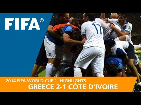 GREECE v CÔTE D'IVOIRE (2:1) - 2014 FIFA World Cup™