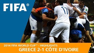 GREECE v CÔTE D