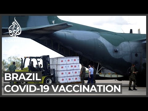 Brazil begins COVID vaccinations amid delay of ingredient imports