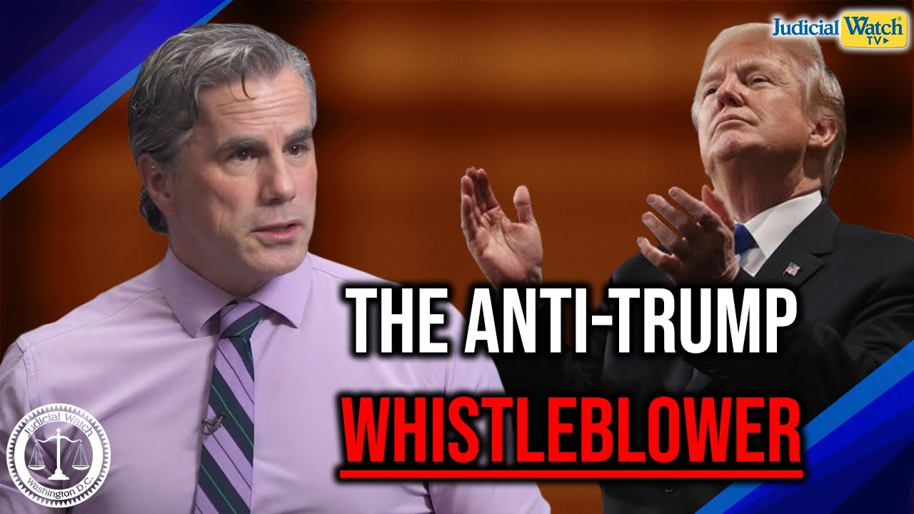 Judicial Watch Tom Fitton: Deep State Doesn't Want to Talk about Corruption over Anti-Trump Whi
