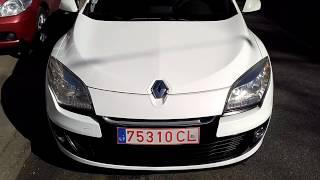 Выбран, доставлен и растаможен Renault Megane 2013 года .