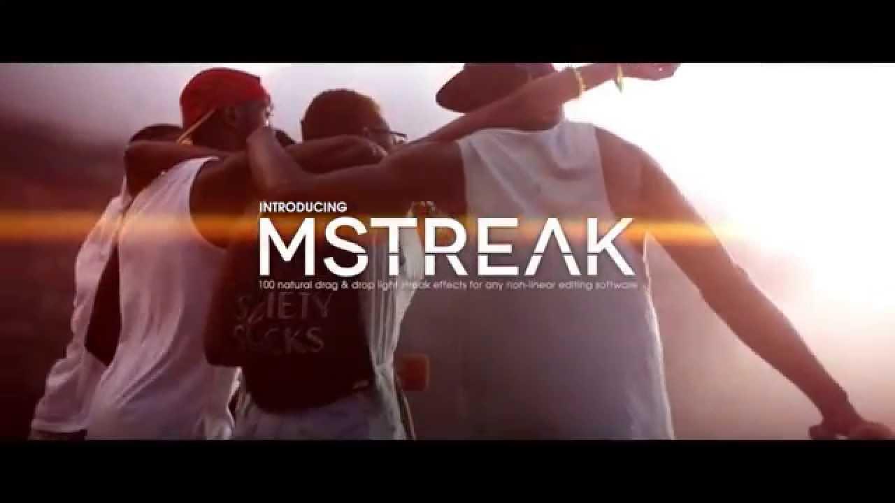 mStreak 4K - 100 Natural Drag & Drop Light Leaks