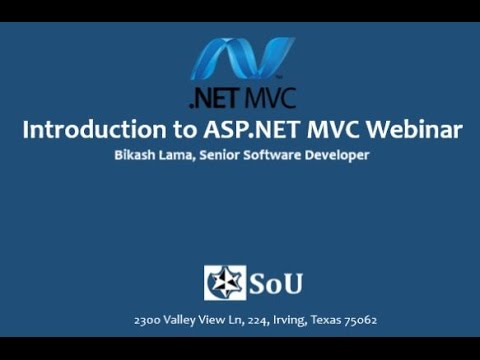 Introduction to ASP.Net MVC