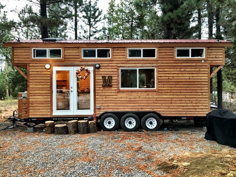 Oregon Tiny House Is A Private Tiny Homestead