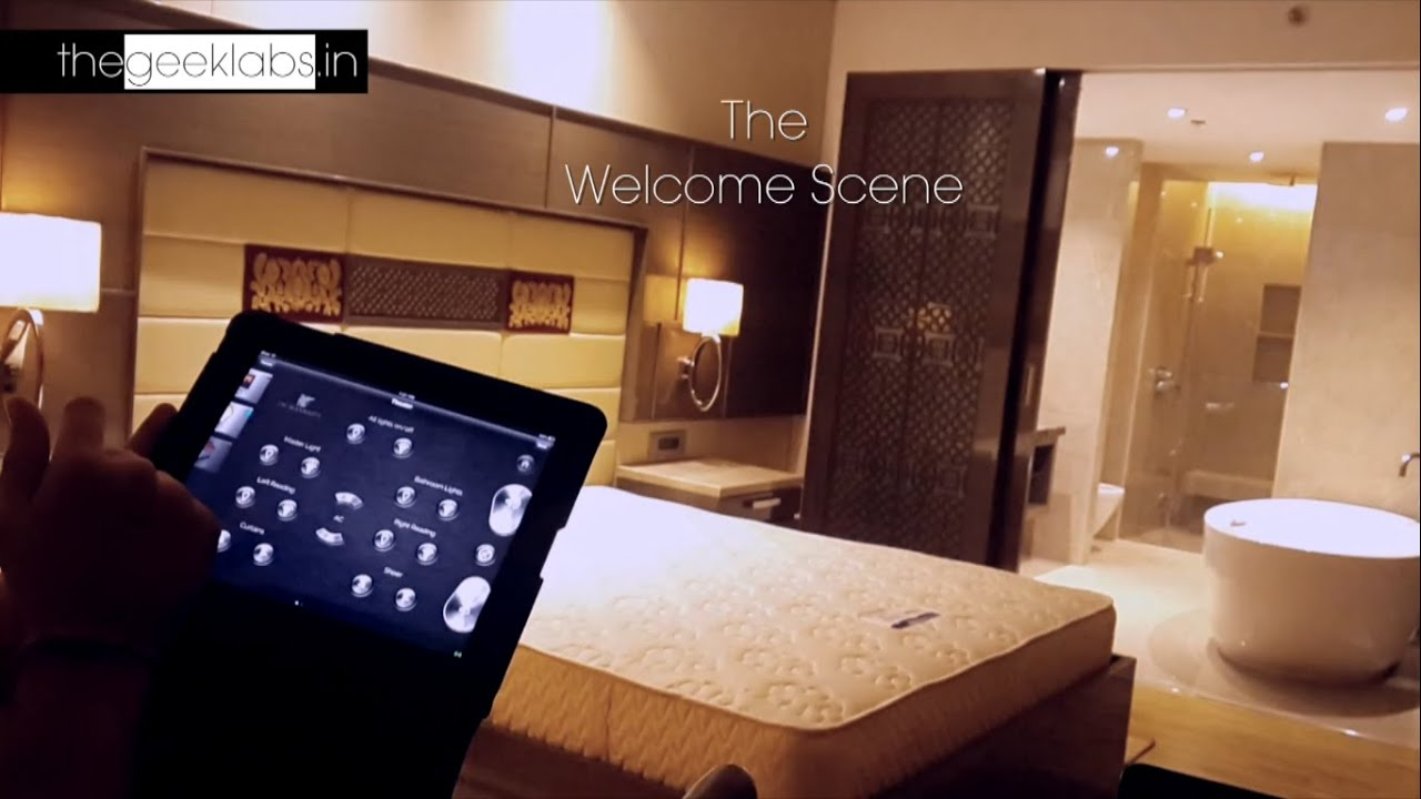 Jw Marriot Sahar Smart Hotel Room Hotel Automation