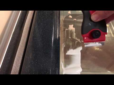 How To Clean The Glass in Your Oven Door