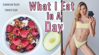 What I Eat In A Day As A Model | Healthy & Easy Quarantine Meals + My Granola | Sanne Vloet #WithMe