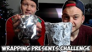 Wrapping Presents Challenge - Tomohawk Vs Squid Christmas Day Special