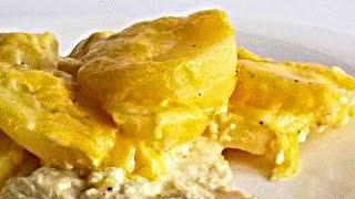 Картошка с Курицей по-Царски кулинарный видео рецепт