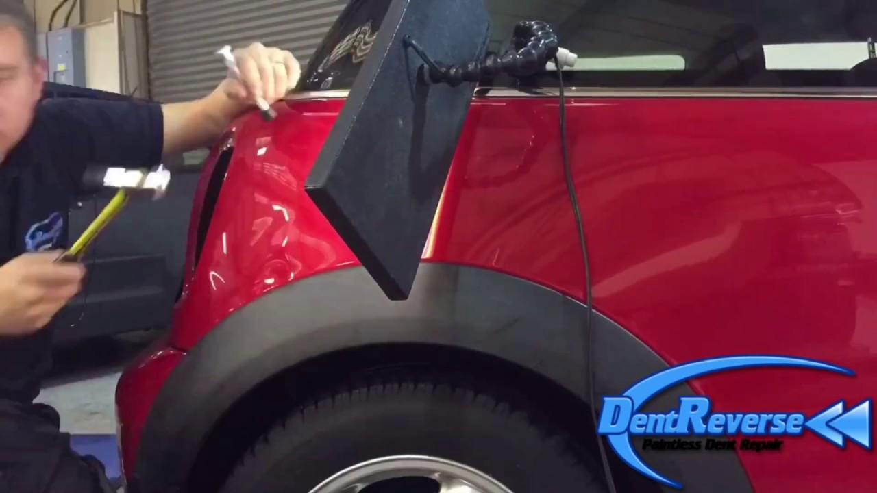 Auto Dent Removal Dent Reverse Time Lapse Car Dent Repair Staffordshire West