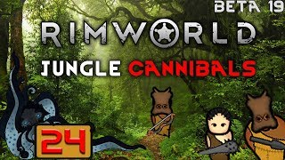 Peder the Crafter - Let's Play RimWorld Beta 19: Savage Cannibal Tribe - #24 - Let's Play Gameplay