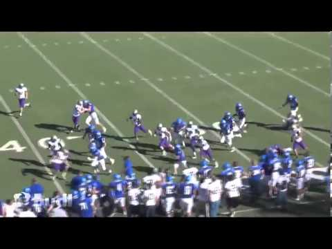 Trent Schuett 2012 College Highlights
