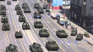 Парад Победы 2015: движение колонны