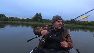 Эта рыбалка стала последней в сентябре 2021г.Рыбалка на Оке.