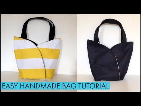 DIY CUTE BAG/coudre un sac/bolsa diy/DIY Tasche/bolsa de bricolaje/DIYバッグ//디백//เย็บกระเป๋าผ้า