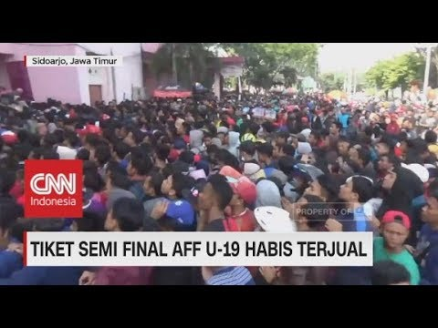 Cover Lagu Tiket Timnas Indonesia U-19 vs Malaysia Ludes, Suporter Membeludak HITSLAGU